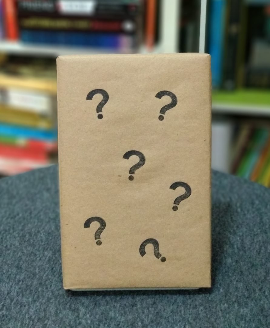 Mystery Book Single – Cropped