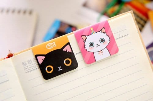 Cheeky Cat Magnetic Bookmark 2