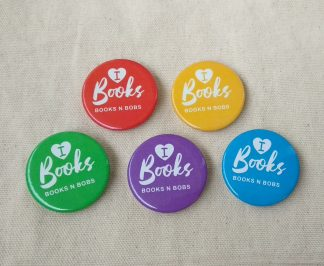 I Heart Books Badges