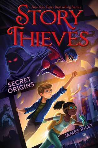 Secret Origins by James Riley