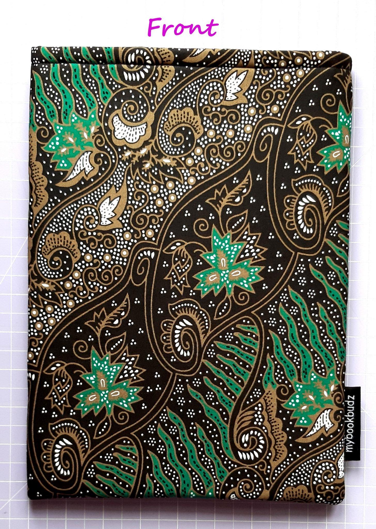 Green & Gold Batik – Front