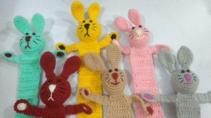 Bunny Crochet Bookmark