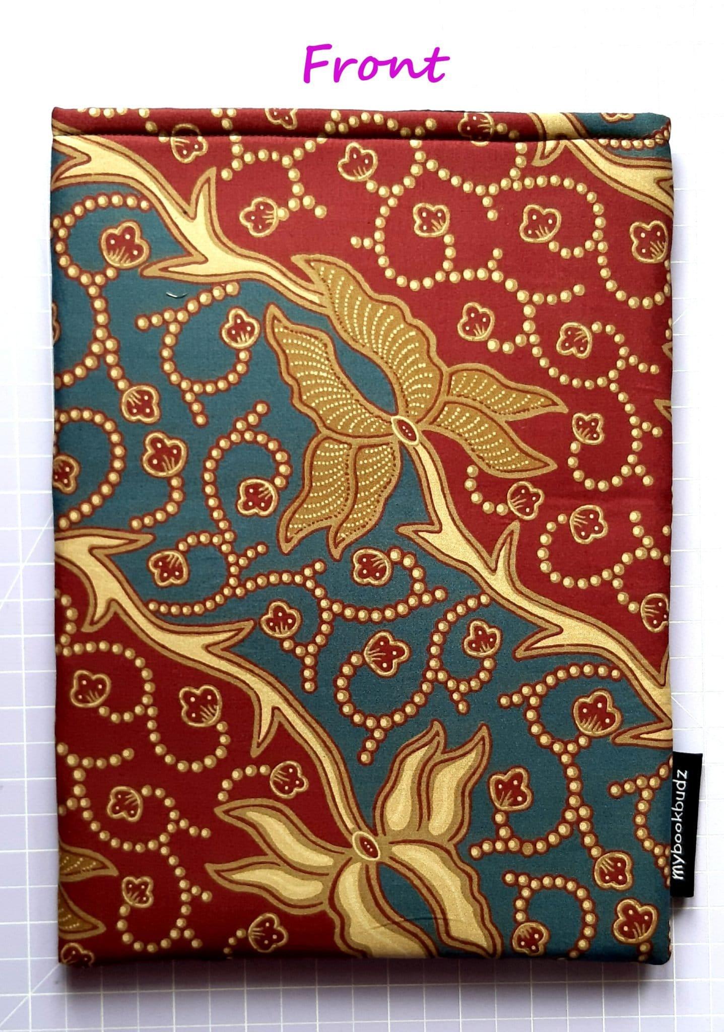 Red & Gold Batik – Front