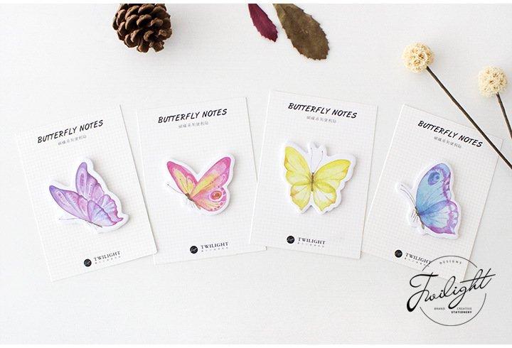 Butterflies Sticky Notes 3