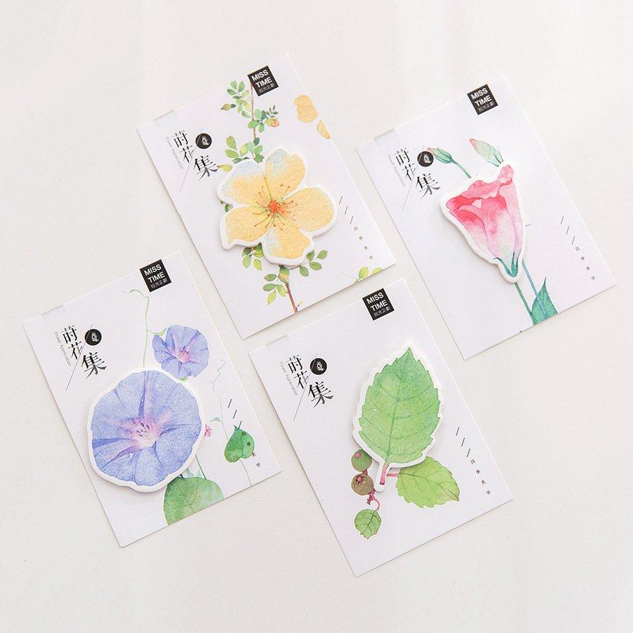 Floral Stick Notes 10