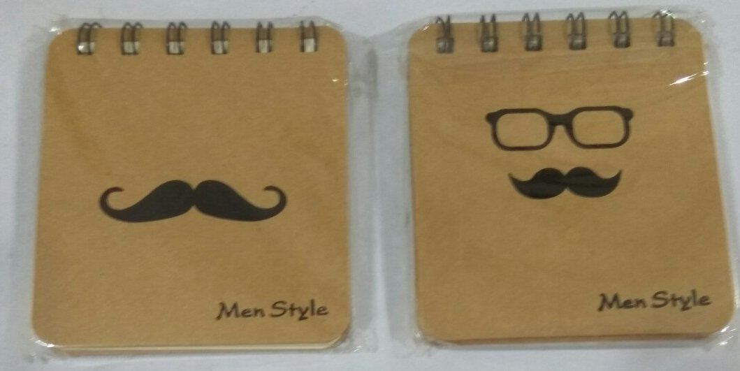 Men Style Notepad