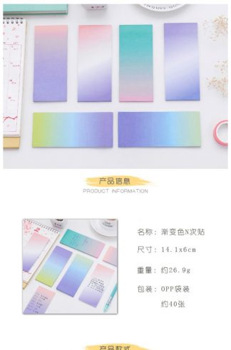 Ombre Sticky Note