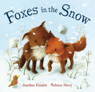 Foxes in the Snow by Jonathan Emmet