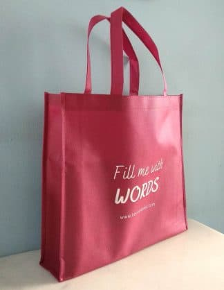 BnB Non-Woven Bag - Fill Me With Words