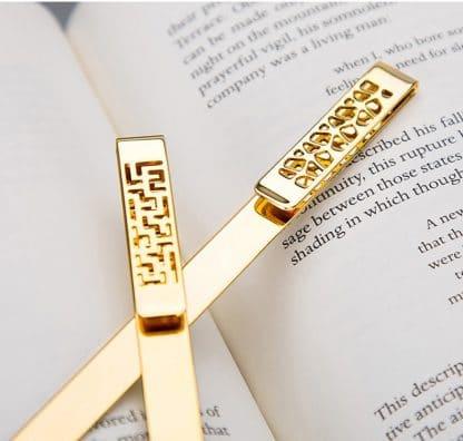 Golden Bookmark