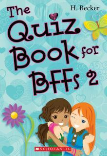 The Quiz Book for BFFs 2 by Helaine Becker
