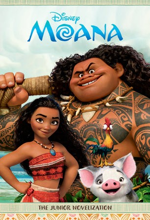 Moana: The Junior Novelization by Suzanne Francis