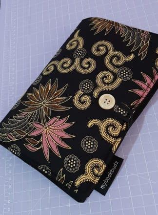 Bookcover - Purple Batik