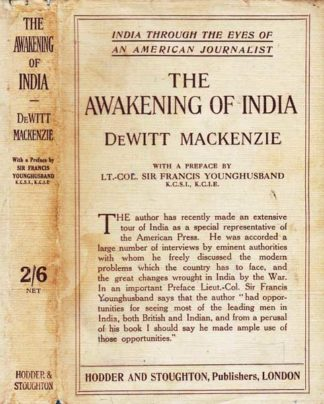 The Awakening of India (1917) by De Witt MacKenzie