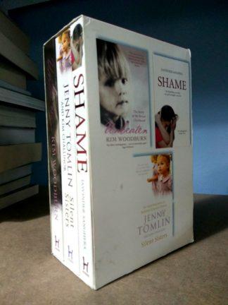 Unbeaten, Shame, Silent Sisters (3-Book Box Set) by Jasvinder Sanghera, Jenny Tomlin, Kim Woodburn