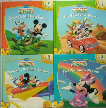 Mickey Mouse Clubhouse (Four-book Set)