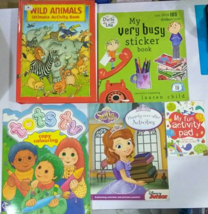 Children's Activity Bundle 4