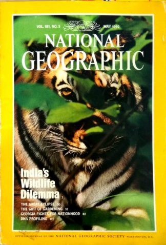 National Geographic Vol 181 No 5 May 1992