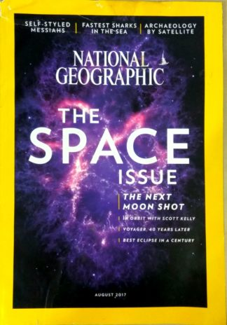 National Geographic August 2017