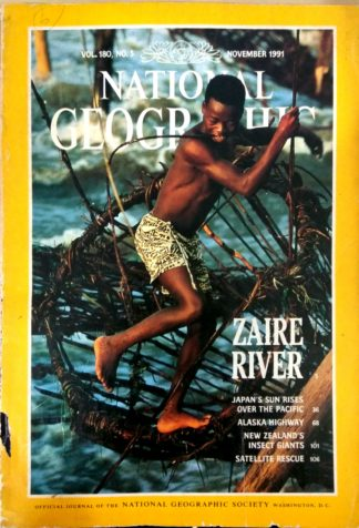 National Geographic Vol 180 No 5 November 1991