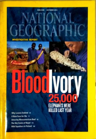 National Geographic October 2012
