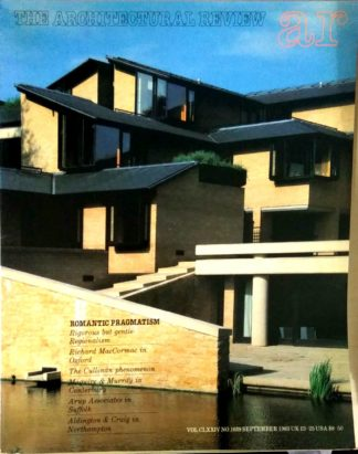 The Architectural Review 1039 September 1983