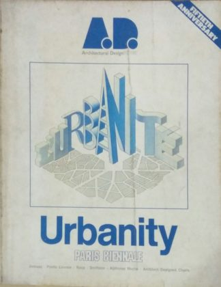 Architectural Design 11/12 1980: Urbanity