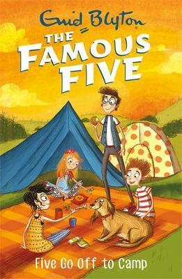 The Famous Fice #7: Five Go Off to Camp by Enid Blyton