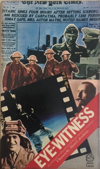 Eye-Witness (1974) by Alan C. Jenkins