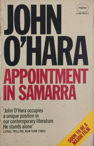 Appointment in Samarra (1979) by John O'Hara