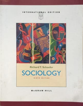 Sociology (9th Edition) by Richard T. Schaefer