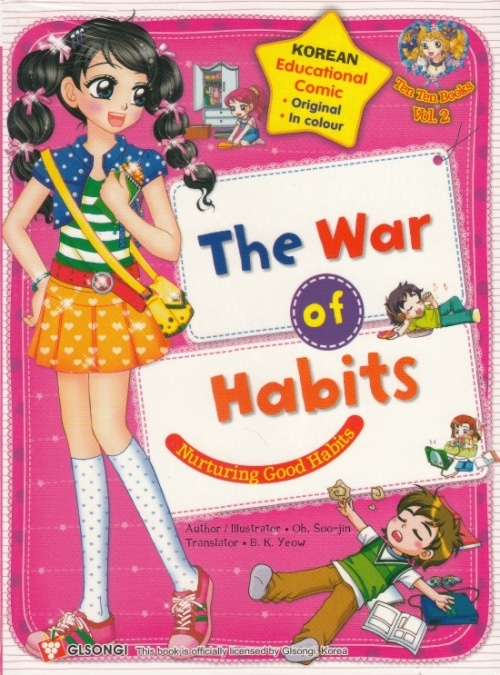1061932 The War of Habits books secondhand booksnbobs bookstore malaysia