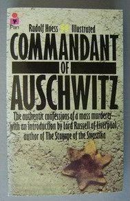 Commandant Of Auschwitz (1974) by Rudolf Hoess
