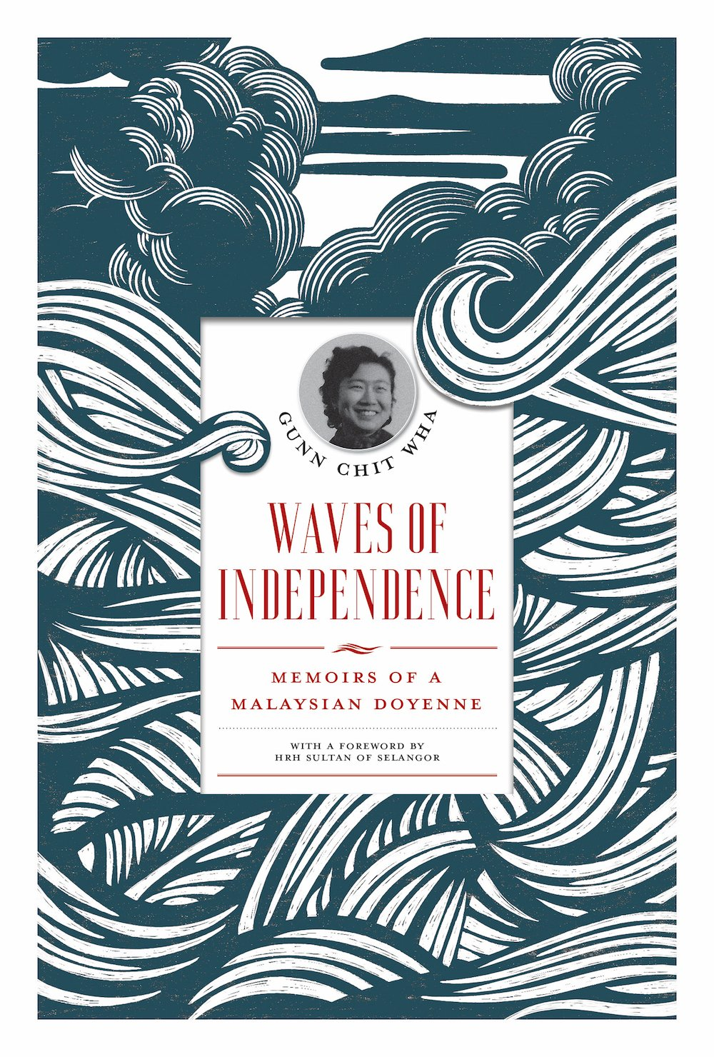 1147094 Waves of Independence Memoirs of a Malaysian Doyenne books secondhand booksnbobs bookstore