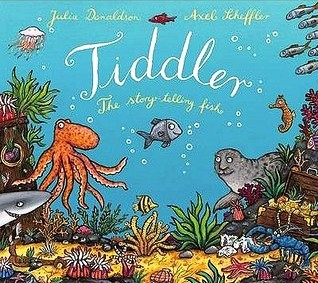 Tiddler The Story-Telling Fish by Julia Donaldson