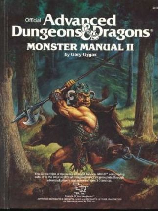 Monster Manual II (Official Advanced Dungeons & Dragons) by Gary Gygax