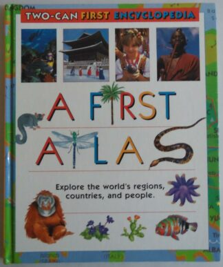 A First Atlas by Angela Royston, Sue Hook