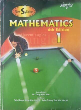 Mathematics 1 Student Textbook by Teh Keng Seng