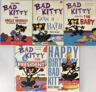 Bad Kitty (Five-book Set) by Nick Bruel