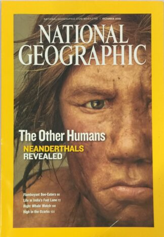 National Geographic October 2008