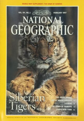 National Geographic February 1997
