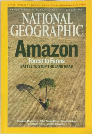 National Geographic January 2007
