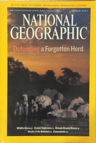 National Geographic March 2007