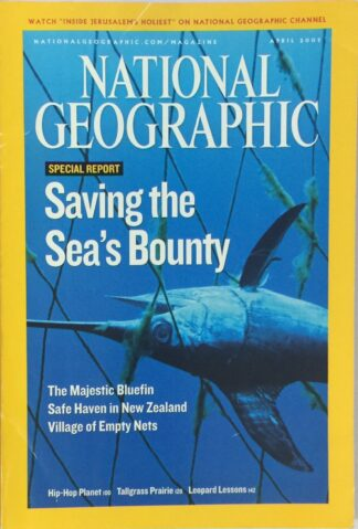 National Geographic April 2007
