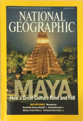 National Geographic August 2007