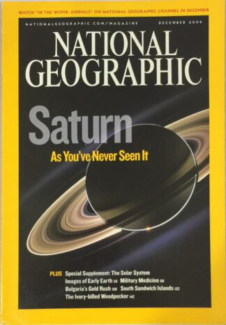 National Geographic December 2006