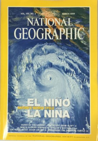 National Geographic March 1999