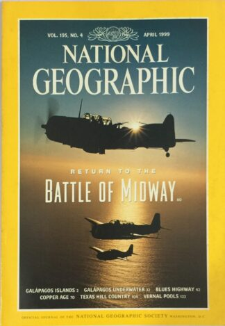 National Geographic April 1999