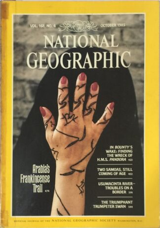 National Geographic October 1985
