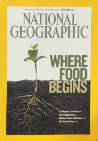 National Geographic September 2008